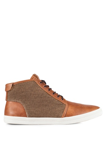 ALDO brown Killa Sneakers AL087SH0RLOAMY_1