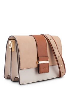 ddc974cda80 33% OFF ESPRIT Faux Leather Shoulder Bag RM 299.90 NOW RM 199.90 Sizes One  Size