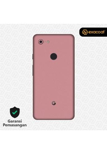 Exacoat Google Pixel 3 3M Skin / Garskin - Blush Pink - Cut Only 312BCES679E5E7GS_1