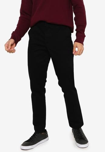 GAP black Slim Fit Khaki Trousers D35FFAA5361EEDGS_1