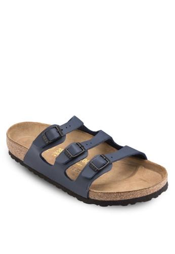 Florida 扣環三帶拖鞋涼鞋, zalora taiwan 時尚購物網女鞋, 鞋