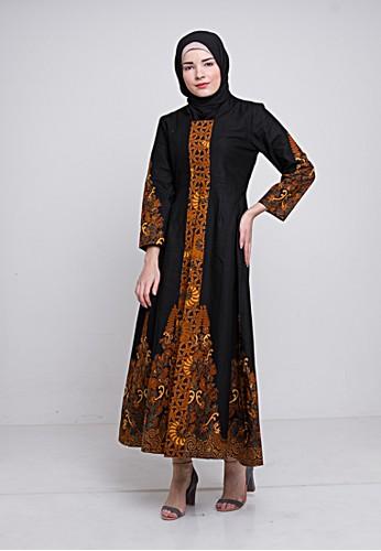 KANDI BATIK black Abaya Delima B456EAA529CD97GS_1
