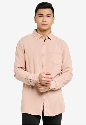 Cotton On brown Cayman Long Sleeve Shirt 346B3AA9632288GS_1