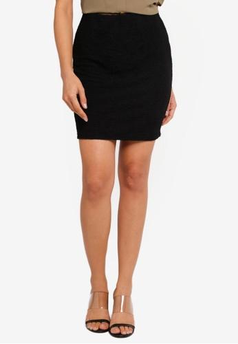 d3aaebd72 Dorothy Perkins black Petite Black Tube Mini Skirt 0E3A4AADD7472BGS_1