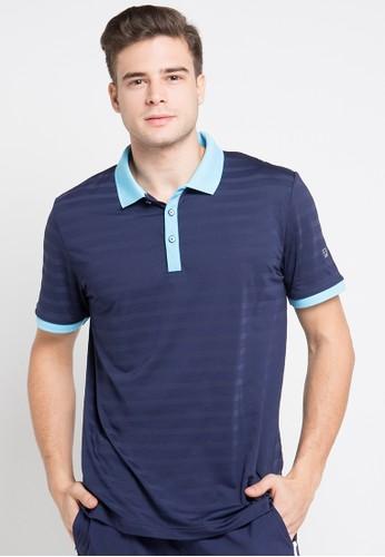 FILA navy Polo Shirt FI346AA0U94QID_1