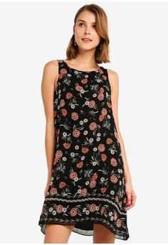 35218cc16e6 Max Studio black Woven Trapeze Dress D8B8EAAD536D1AGS 1
