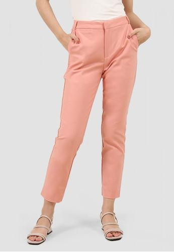 MISSISSIPPI pink Celana Bahan Panjang Wanita B03349M Peach 11086AA1CDBF01GS_1