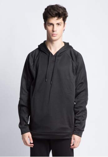 ANTHM black ANTHM HOODED JUMPER 543EAAAB7A6573GS_1