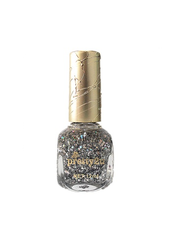 Pretty2u silver Candy Nail Polish-50 PR716BE41QLYMY_1