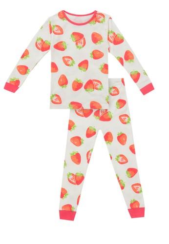cocohanee multi Cocohanee Hanee's Red Strawberry Pajamas 88A41KA0962341GS_1