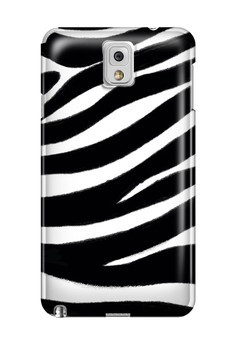 Zebra Print Glossy Hard Case for Samsung Note 3