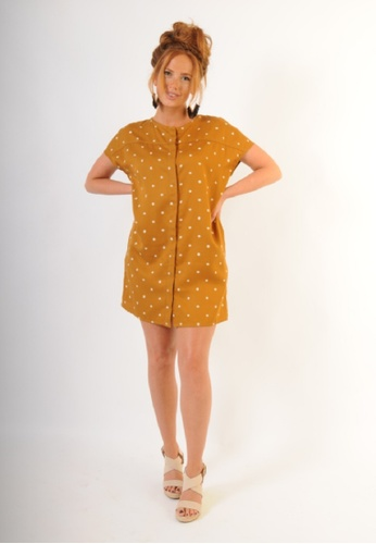 Roamers brown Old Orchard Dress 262F9AA56269A1GS_1