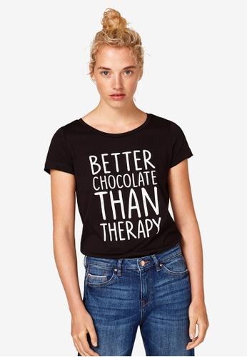 ESPRIT black Short Sleeve T-Shirt E2B9AAA6CE4FF7GS_1