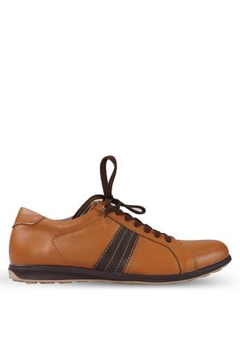 Tony Perotti brown Tony Perotti Sneakers Abriel - Brown TO890SH0VNFMID_1