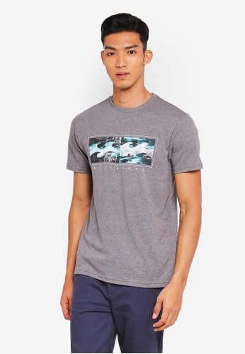Billabong 灰色 混色質感T恤 B2EBFAA09A5B4DGS_1
