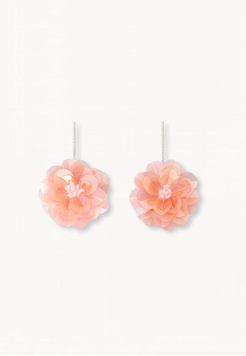 Pomelo pink Blossom Drop Earrings - Pink A0D3CAC464CC1BGS_1
