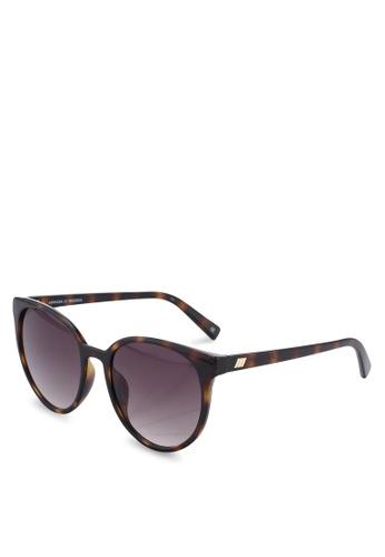 Le Specs green Armada Sunglasses 9158BGLD453F69GS_1