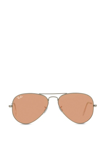 Ray-Ban Aviator Large Metal RB3025 Sunglasses RA370GL41SAGSG_1