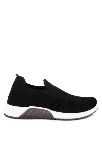 Mendrez black Jaypee Sneakers 61850SHCF60259GS_1