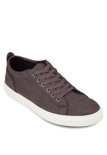 亮面仿皮繫帶運動鞋zalora時尚購物網評價, 鞋, 休閒鞋