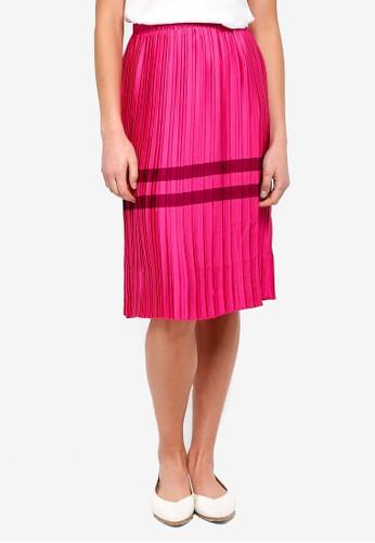 Vero Moda pink Niti NW Skirt 2FF14AAB892440GS_1