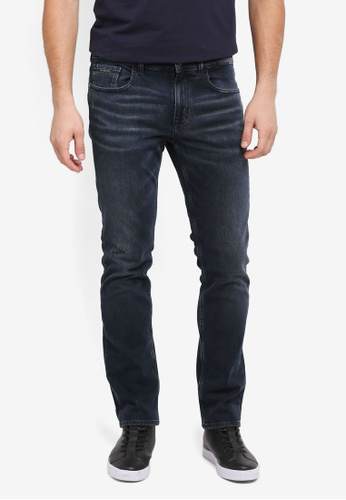 Calvin Klein navy Skinny Oslo Jeans - Calvin Klein Jeans C57F6AA00F87A1GS_1
