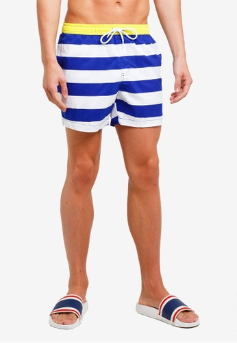 Factorie 多色 Swim Shorts CF417AA73644D3GS_1