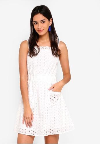 ZALORA white Strap Dress 24C6DAA987B862GS_1