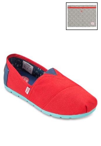 Hzalora taiwan 時尚購物網鞋子ARU 帆布懶人鞋, 女鞋, 鞋