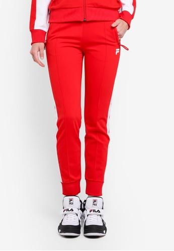 FILA red Orginale Knit Pant 38B7EAAD320B53GS_1