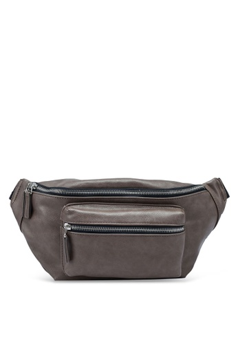 niko and ... brown Leather Effect Belt Bag CE26AAC2A09547GS_1
