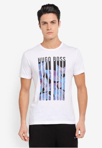 BOSS white Tee 3 - Boss Athleisure BO517AA0SRB1MY_1