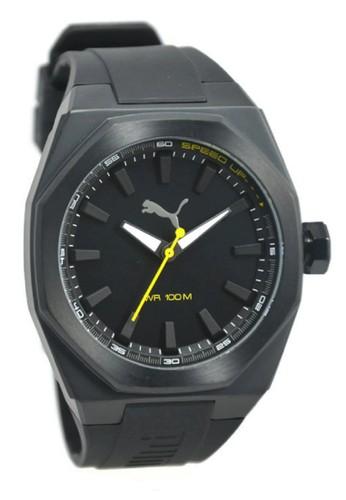 PUMA Watches black Puma Jam Tangan Pria Hitam Rubber Strap PU104051002  PU245AC93QGWID 1 4a3d51149d