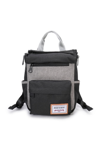 DUSTY black Twin-bag(S) A16DBAC2CE1BF4GS_1
