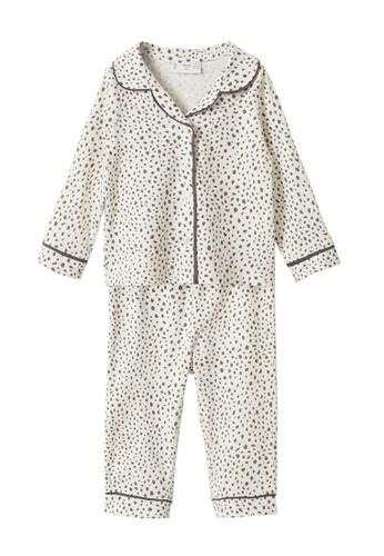 MANGO BABY white Printed Long Pyjamas 64500KA48B1C13GS_1