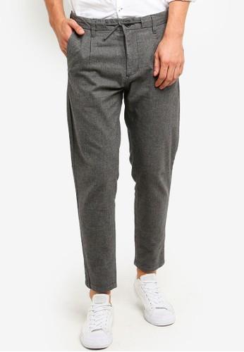 ESPRIT grey Woven Length Service Pants 50FF6AA02FDC61GS_1