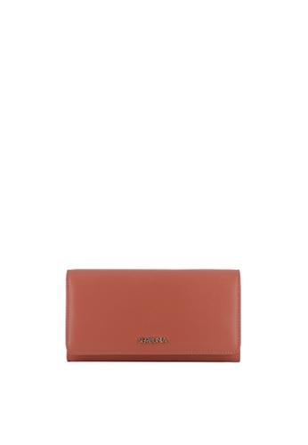 SEMBONIA orange Medium Nappa Leather Bi-Fold Wallet 48DEAAC60BCA44GS_1