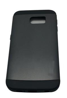 Sleek Shockproof Case for Samsung Galaxy S6 Edge (Black)
