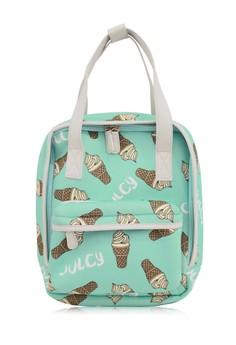 Mint Flavor Ice Cream Mini Robot Backpack
