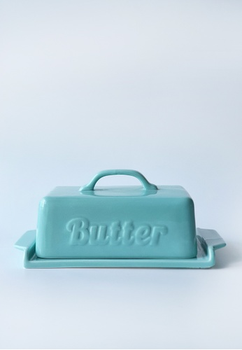 Your Lagom turquoise Retrolicious Butter Tray 61825HLD03C00BGS_1