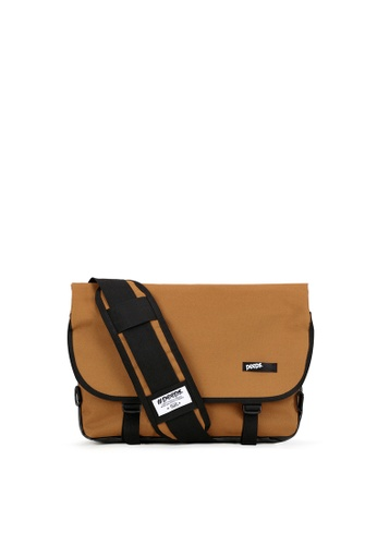 Peeps brown and multi Essential Messenger Bag 1F668ACE47661AGS_1