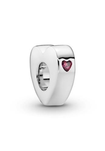 Pandora silver Pandora Red Heart You & Me Spacer Charm 262A1AC285B9C6GS_1