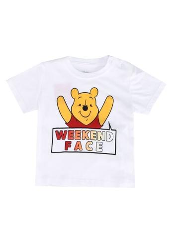 FOX Kids & Baby white Winnie The Pooh T-Shirt 4EFAEKAED5A3C0GS_1