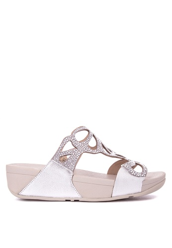 3340aafcc6be7 Shop Fitflop Fflp-Wn-Bumble Crystal Slide-H70-011-7 Online on ZALORA ...