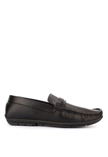 Italianos black Benett Loafers 6B036SHBFC5D3CGS_1