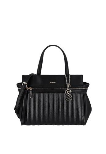 SEMBONIA black Top-Handle Satchel Bag 53694AC0BD1CABGS_1