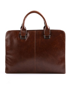 Lara brown Solid Cross Body Briefcases for Men 9E57DACAF3460CGS 1 73d360102b349