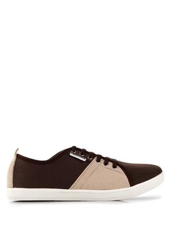 Homypro brown Perry Men Sneakers HO843SH32WQLID_1