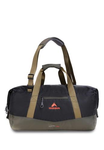 Eiger black Fardel Duffle Bag 45L - Black F200AACCBBC41DGS_1