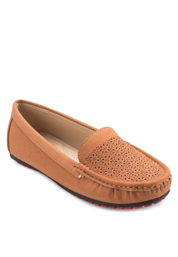 經esprit手錶專櫃典莫卡辛鞋, 女鞋, 懶人鞋